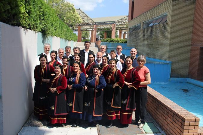 Χορευτικό Συλλόγου Εργαζομένων στο Νοσοκομείο Παπαγεωργίου Θεσσαλονίκης